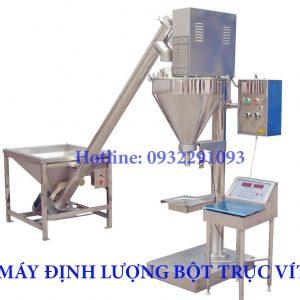 Máy định lượng bột trục vít