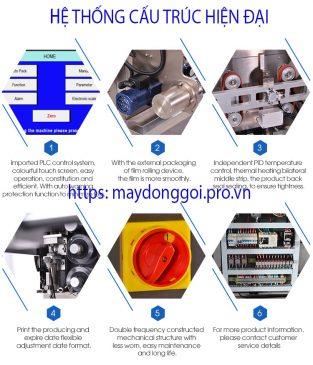 Hệ thống điện máy đóng gói cân định lượng