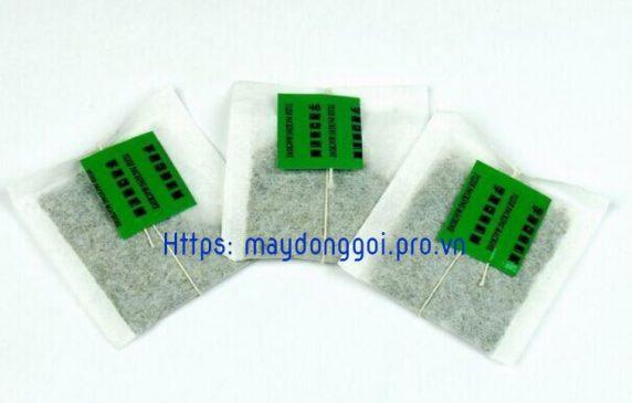 Gói trà túi lọc sản xuất trên máy đóng gói trà túi lọc YD11 loại mới 2018