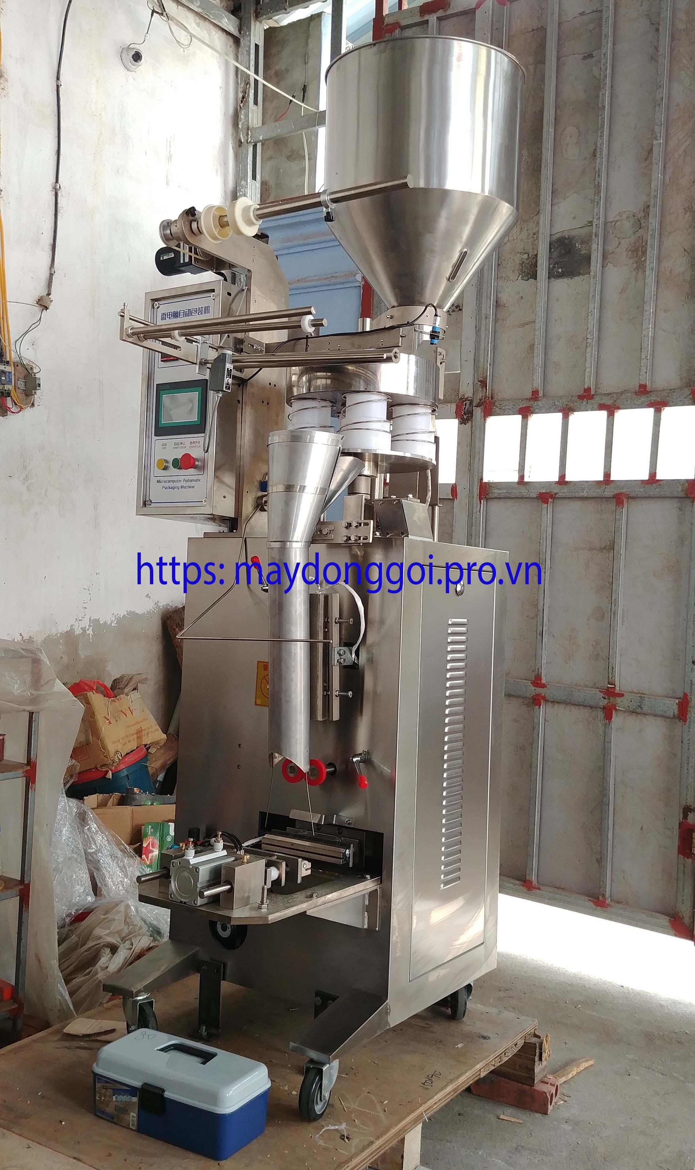 Máy đóng gói đường dùng cốc đong định lượng