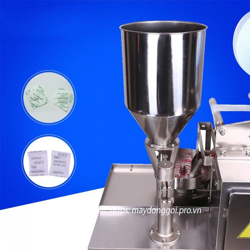 Phần định lượng máy đóng gói hạt chống ẩm tự động