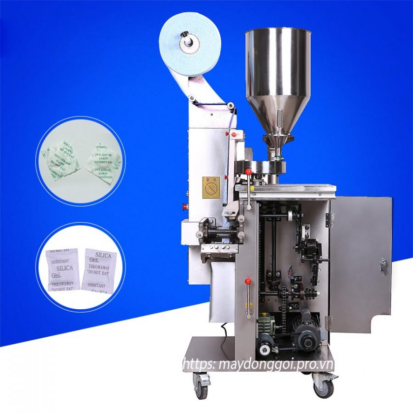 Kết cấu cơ khí máy đóng gói hạt chống ẩm tự động